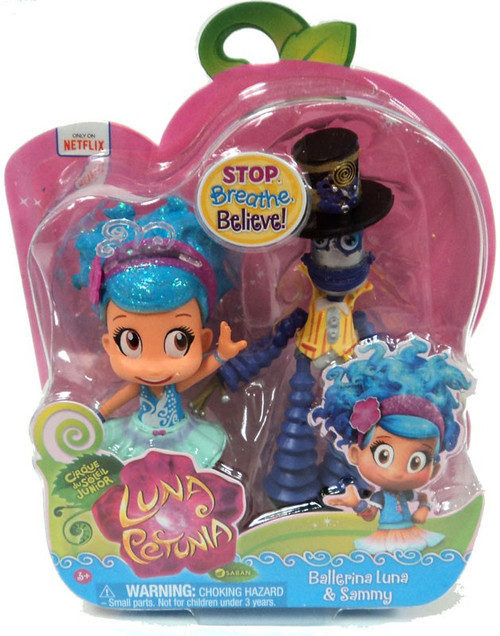 Luna Petunia Ballerina Luna & Sammy Mini Figure 2-Pack