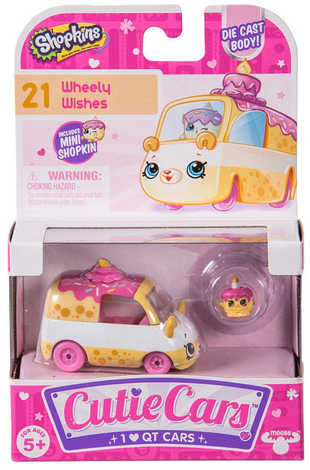 Shopkins Cutie Cars Wheely Wishes Figure Pack #21