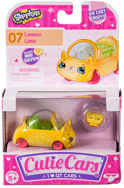 Shopkins Cutie Cars Lemon Limo Figure Pack #07