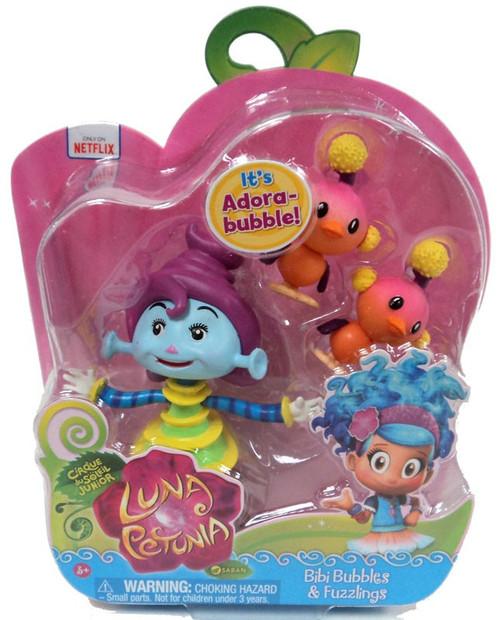 Luna Petunia Bibi Bubbles & Fuzzlings Mini Figure 2-Pack