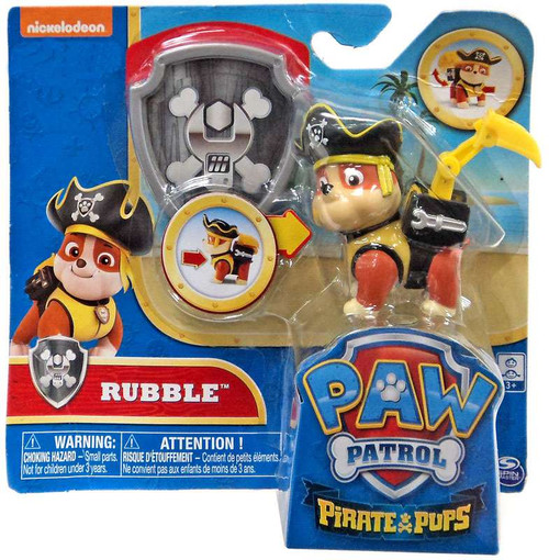 Paw Patrol Pirate Pups Rubble Exclusive Figure