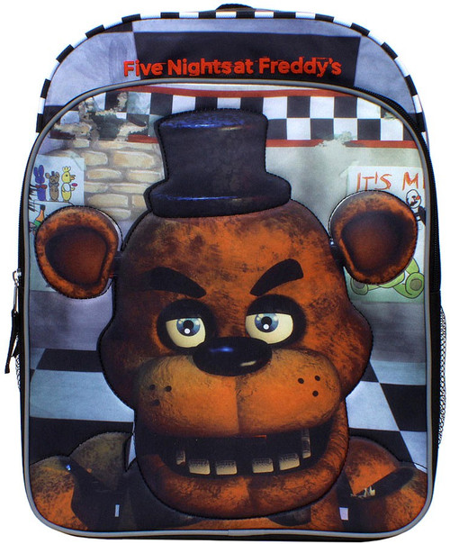 Five Nights at Freddy's Quilted Freddy Backpack