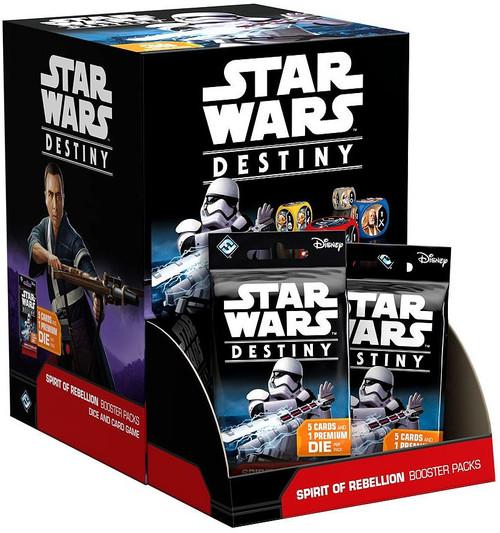 Star Wars Destiny Spirit of Rebellion Booster Box [36 Packs]