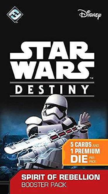Star Wars Destiny Spirit of Rebellion Booster Pack [5 Cards & 1 Premium Die]