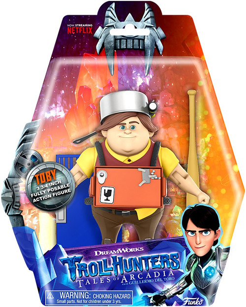 Funko Trollhunters Tales of Arcadia Toby Action Figure
