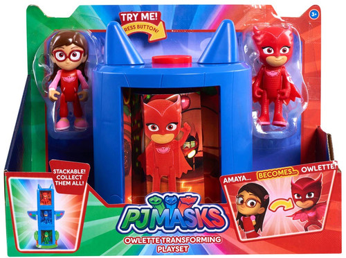 Disney Junior PJ Masks Owlette Transforming Playset