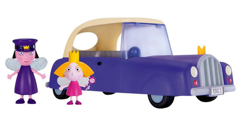 Ben & Holly's Little Kingdom Royal Car Exclusive Vehicle & Figure 2-Pack