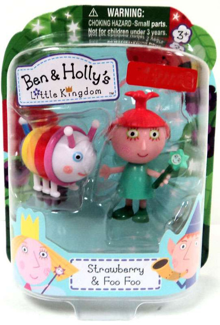 Ben & Holly's Little Kingdom Strawberry & Foo Foo Exclusive Mini Figure 2-Pack