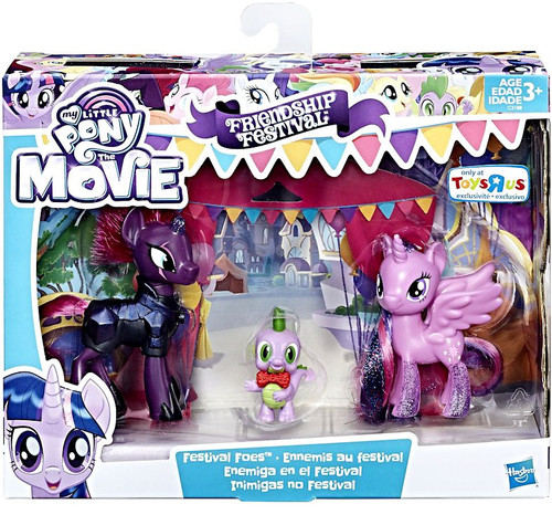 My Little Pony The Movie Friendship Festival Festival Foes Exclusive Figure 3-Pack