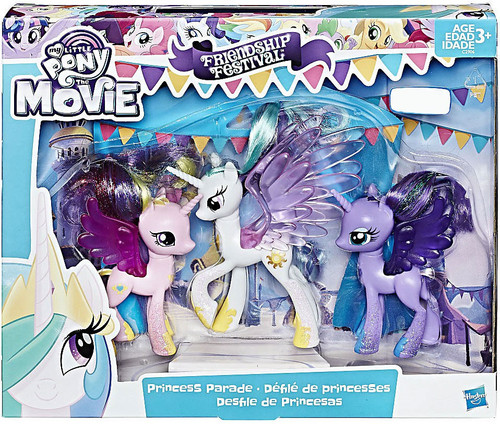 My Little Pony The Movie Friendship Festival Princess Parade Exclusive Figure 3-Pack