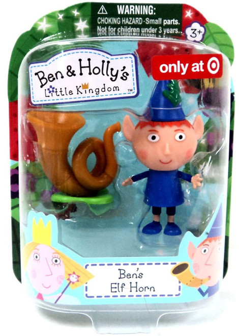 Ben & Holly's Little Kingdom Ben's Elf Horn Exclusive Mini Figure 2-Pack