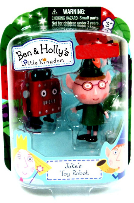 Ben & Holly's Little Kingdom Jake's Toy Robot Exclusive Mini Figure 2-Pack