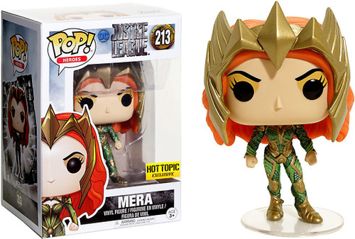 Funko Justice League POP! Heroes Mera Exclusive Vinyl Figure #213
