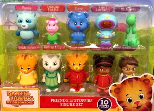 Daniel Tiger's Neighborhood Friends & Stuffies Exclusive Mini Figure 10-Pack