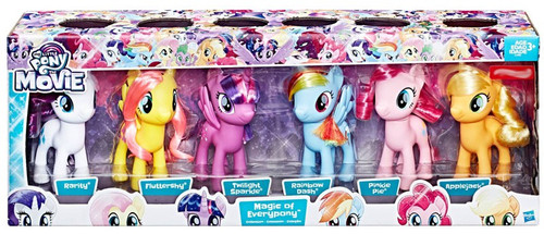 My Little Pony The Movie Magic of Everypony 6-Inch Figure 6-Pack