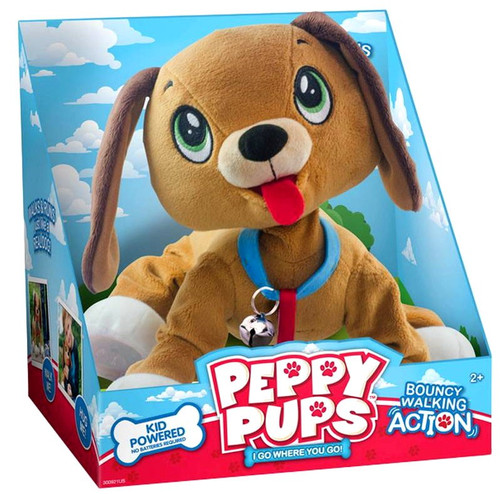 Peppy Pups Walking Plush
