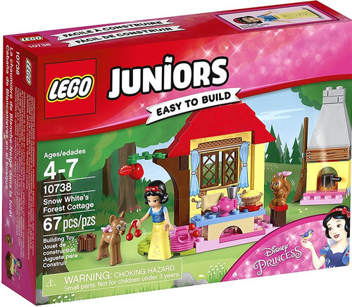 LEGO Disney Princess Juniors Snow White's Forest Cottage Set #10738