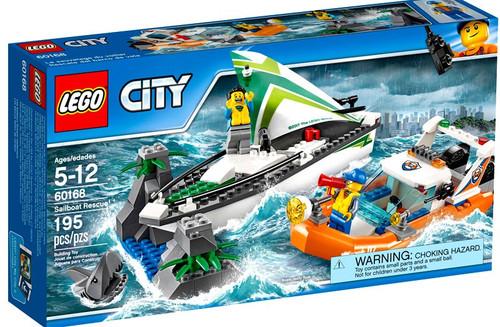 LEGO City Sailboat Rescue Exclusive Set #60168