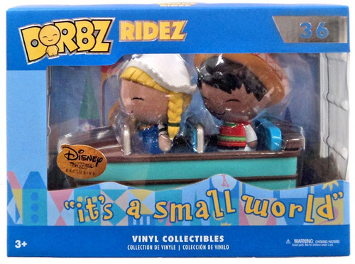 Funko Disney It's a Small World Dorbz Ridez Mexico & Holland with Small World Boat Exclusive Vinyl Figure #36 [Tiny Town]