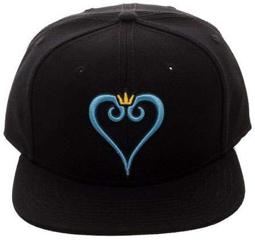 Disney Kingdom Hearts Kingdom Heart Logo Snapback Cap Apparel