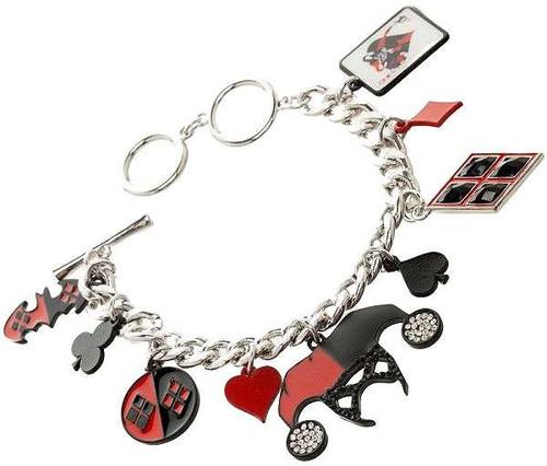 DC Suicide Squad Harley Quinn Charm Bracelet Apparel