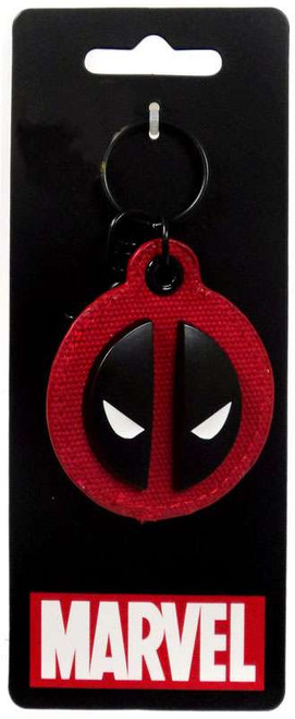 Marvel Deadpool Metal & Cloth Keychain Apparel
