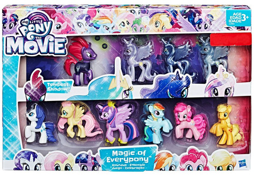 My Little Pony The Movie Tempest Shadow Magic of Everypony Exclusive Mini Figure 10-Pack