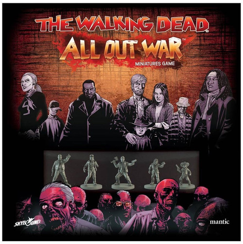The Walking Dead Walking Dead All Out War Miniature Game All Out War Core Set