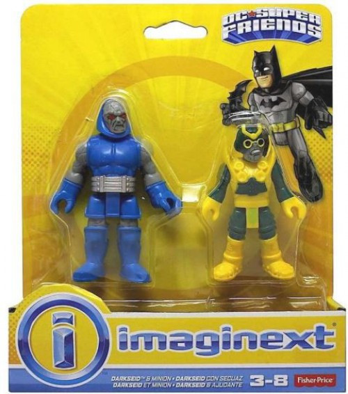 Fisher Price DC Super Friends Imaginext Darkseid & Minion Figure 2-Pack