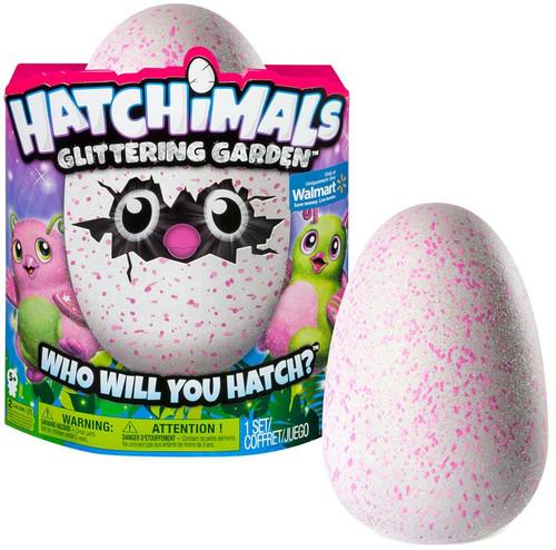 Hatchimals Glittering Garden Gleaming Burtle Exclusive Magical Creature [RANDOM Color (Green or Pink)]