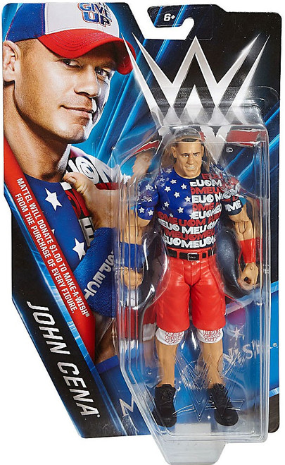 WWE Wrestling Make-A-Wish John Cena Exclusive Action Figure
