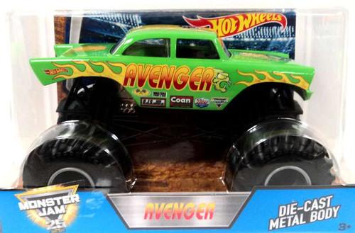 Hot Wheels Monster Jam 25 Avenger Die-Cast Car