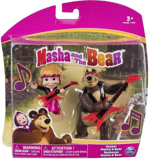 Masha and the Bear Rocker Masha & Bear 3-Inch Figure 2-Pack