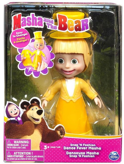 Masha and the Bear Snap 'N Fashion Rocker Masha & Bear Figure