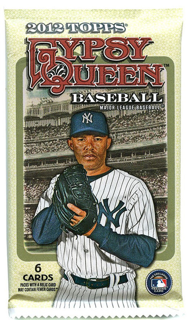 MLB Topps 2012 Gypsy Queen Baseball Trading Card Pack [6 Cards!]