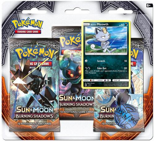 Pokemon Trading Card Game Sun & Moon Burning Shadows Alolan Meowth Special Edition [3 Booster Packs, Promo Card & Coin]