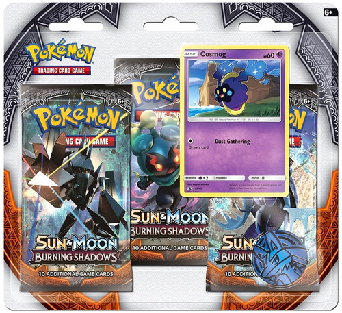 Pokemon Trading Card Game Sun & Moon Burning Shadows Cosmog Special Edition [3 Booster Packs, Promo Card & Coin]