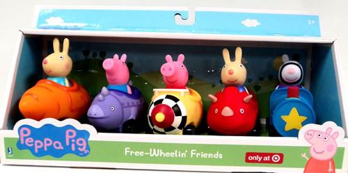 Peppa Pig Free-Wheelin' Friends Exclusive Vehicle 5-Pack