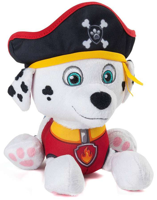 Paw Patrol Pirate Pups Marshall Exclusive 8-Inch Plush