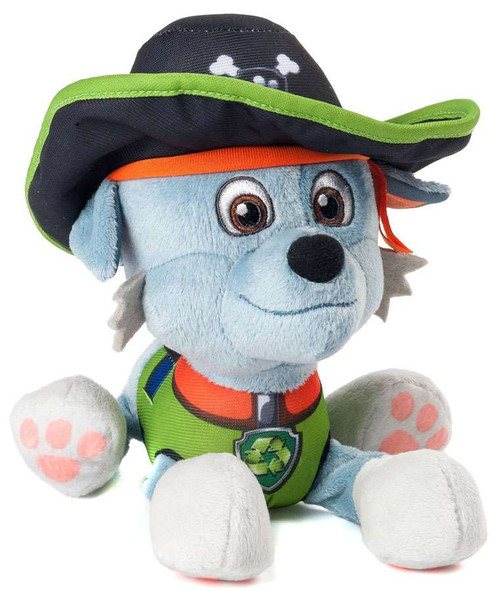 Paw Patrol Pirate Pups Rocky Exclusive 8-Inch Plush