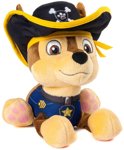 Paw Patrol Pirate Pups Chase Exclusive 8-Inch Plush