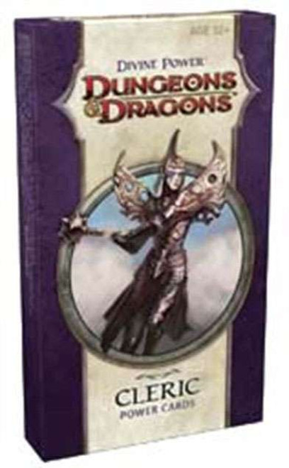 Dungeons & Dragons D&D 4th Edition Divine Power Cleric Power Cards