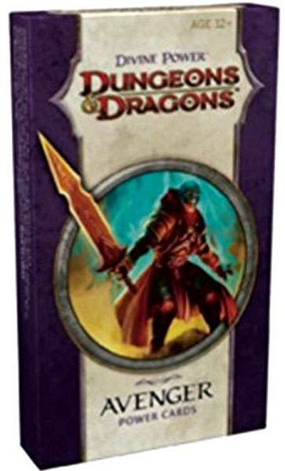 Dungeons & Dragons D&D 4th Edition Divine Power Avenger Power Cards