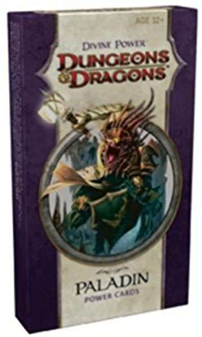 Dungeons & Dragons D&D 4th Edition Divine Power Paladin Power Cards