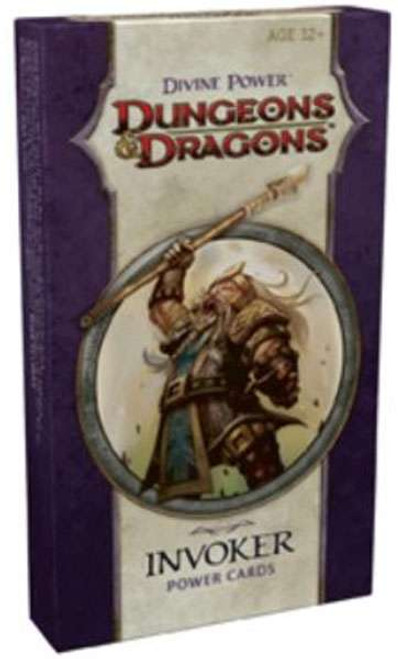 Dungeons & Dragons D&D 4th Edition Divine Power Invoker Power Cards