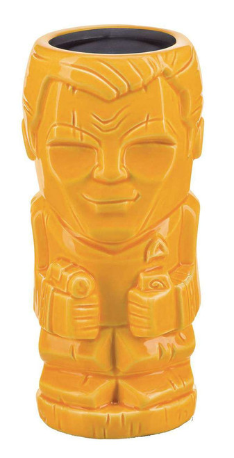 Star Trek Geeki Tiki Captain James T. Kirk 7-Inch Tiki Glass