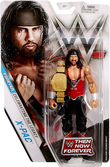 WWE Wrestling Then Now Forever X-Pac Exclusive Action Figure