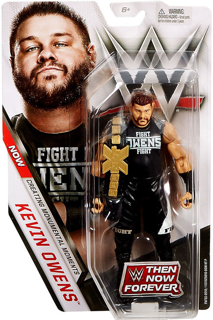 WWE Wrestling Then Now Forever Kevin Owens Exclusive Action Figure