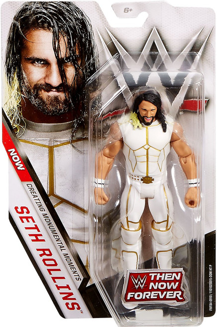 WWE Wrestling Then Now Forever Seth Rollins Exclusive Action Figure