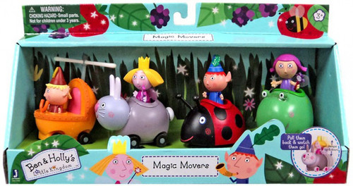 Ben & Holly's Little Kingdom Magic Movers Exclusive Figure 4-Pack